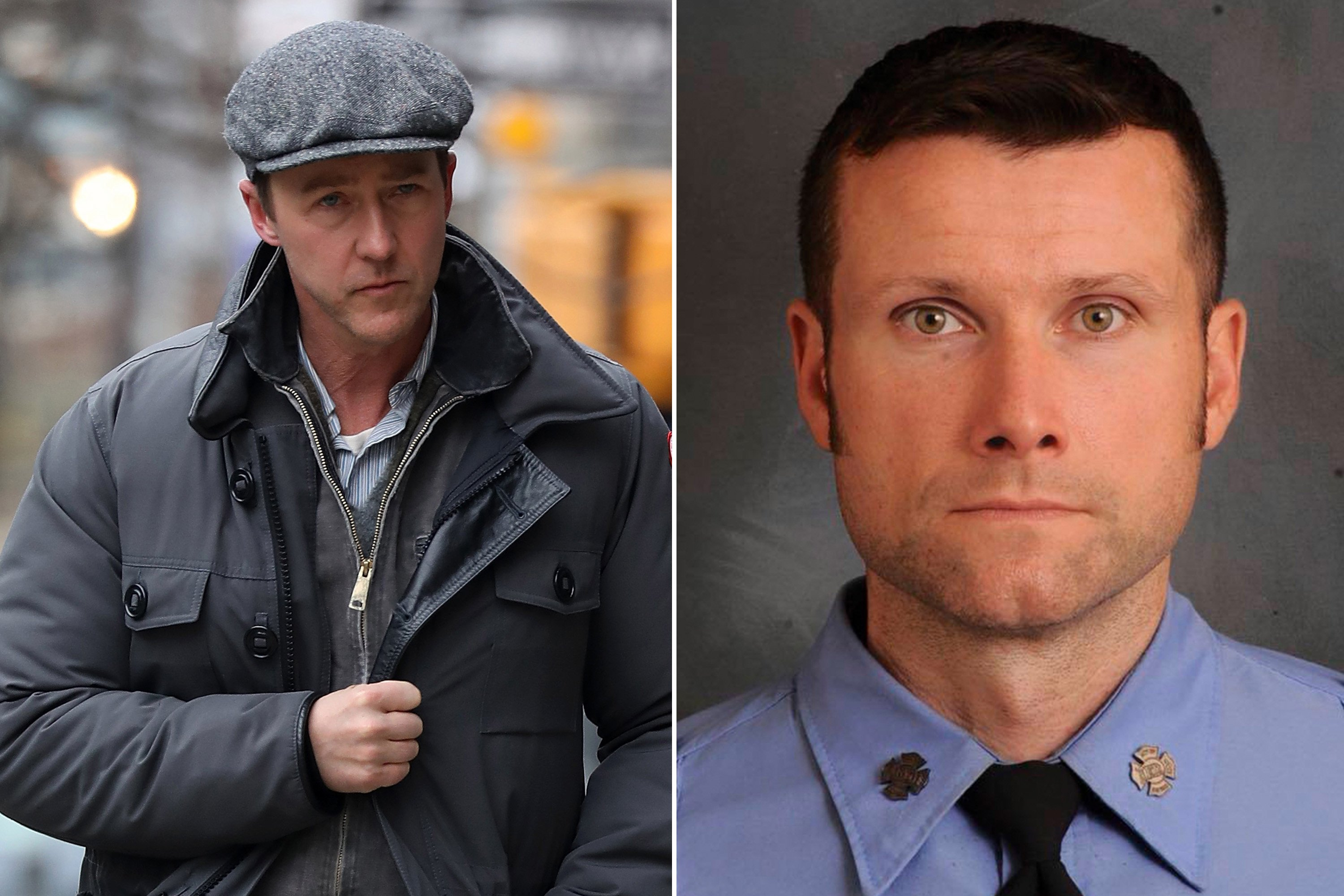 Ed Norton: 'Our hearts ache' for firefighter killed on movie set