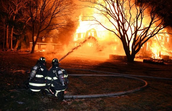 Historic mansion reduced to ashes just weeks after it sold