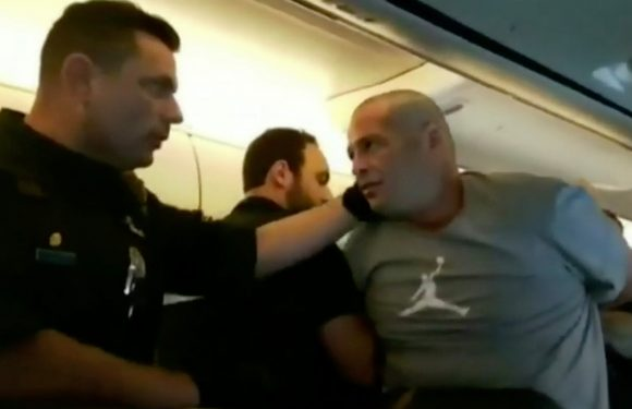 Passenger's 'aggressive' freakout might cost him $17K