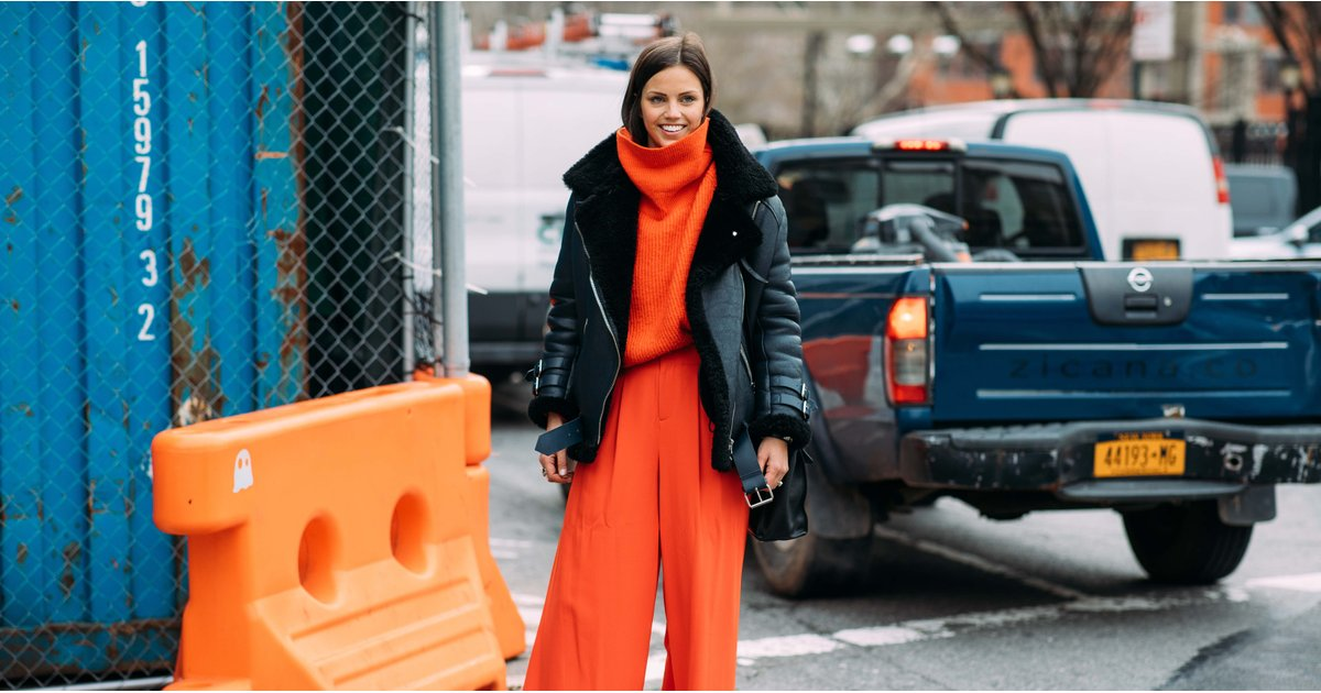 Red Is the Biggest, Boldest Color Trend For Sweater Weather
