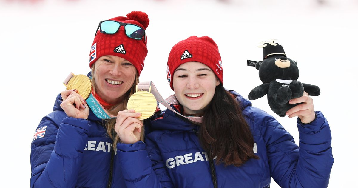 Menna Fitzpatrick and Jen Kehoe win Team GB's first Winter Paralympic gold