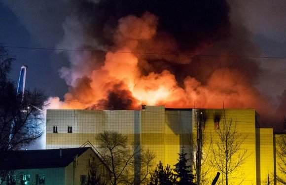 At least 53 dead after fire rips through Russian shopping mall