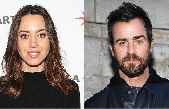 Are Justin Theroux and Aubrey Plaza Dating? Not So Fast