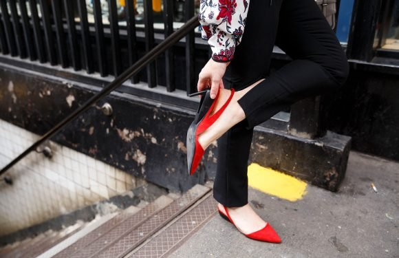 These heels transform to flats in one click — but can you walk in them?