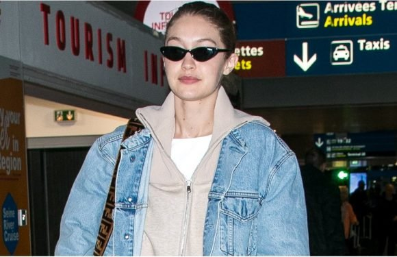 Gigi Hadid's Airport Shoes Have a Sharp Little Twist That Makes Them Way Cooler Than Sneakers