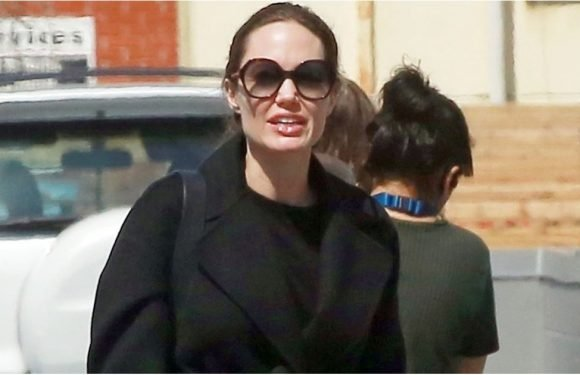 You Probably Thought These Work Pants Were Outdated, but Angelina Jolie's Bringing 'Em Back