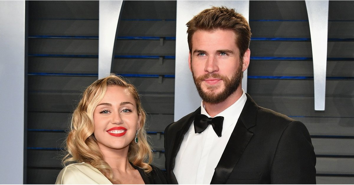 Excuse Us While We Swoon Over Miley Cyrus and Liam Hemsworth's Dapper Date Night