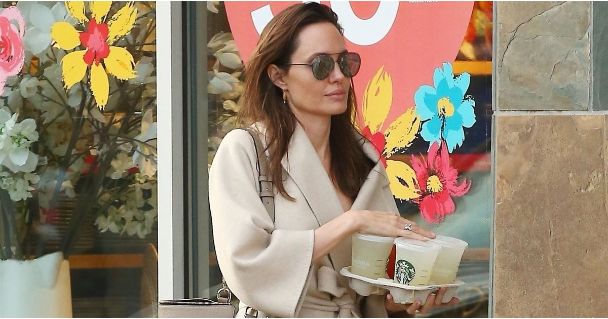 Angelina Jolie's Tote Is 1 We've Been Considering, but Now We're Definitely Going to Buy It
