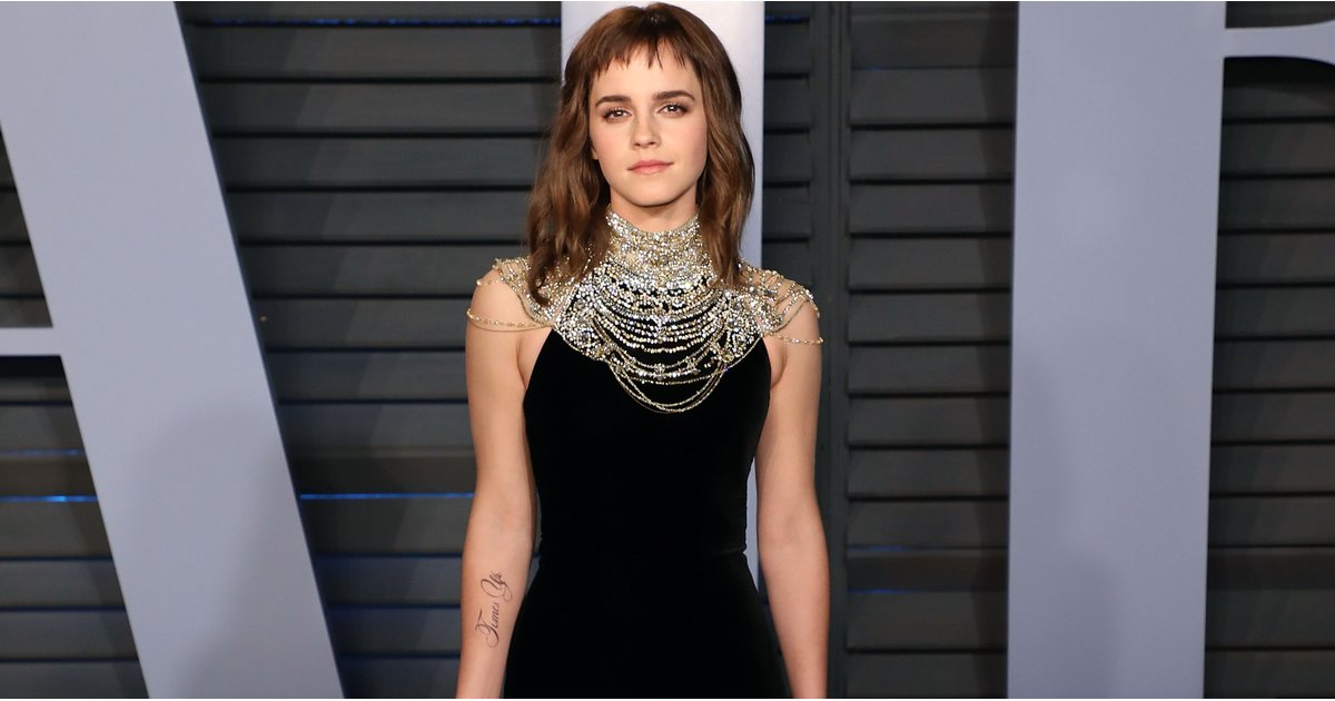 Swish, Flick, and Send Tweet: Emma Watson's Response to Tattoo Critics Would Make Hermione Proud