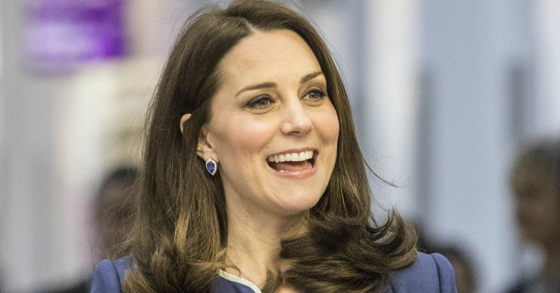 The Duchess Of Cambridge Jokes That Prince William Is In Denial Over 3rd Child