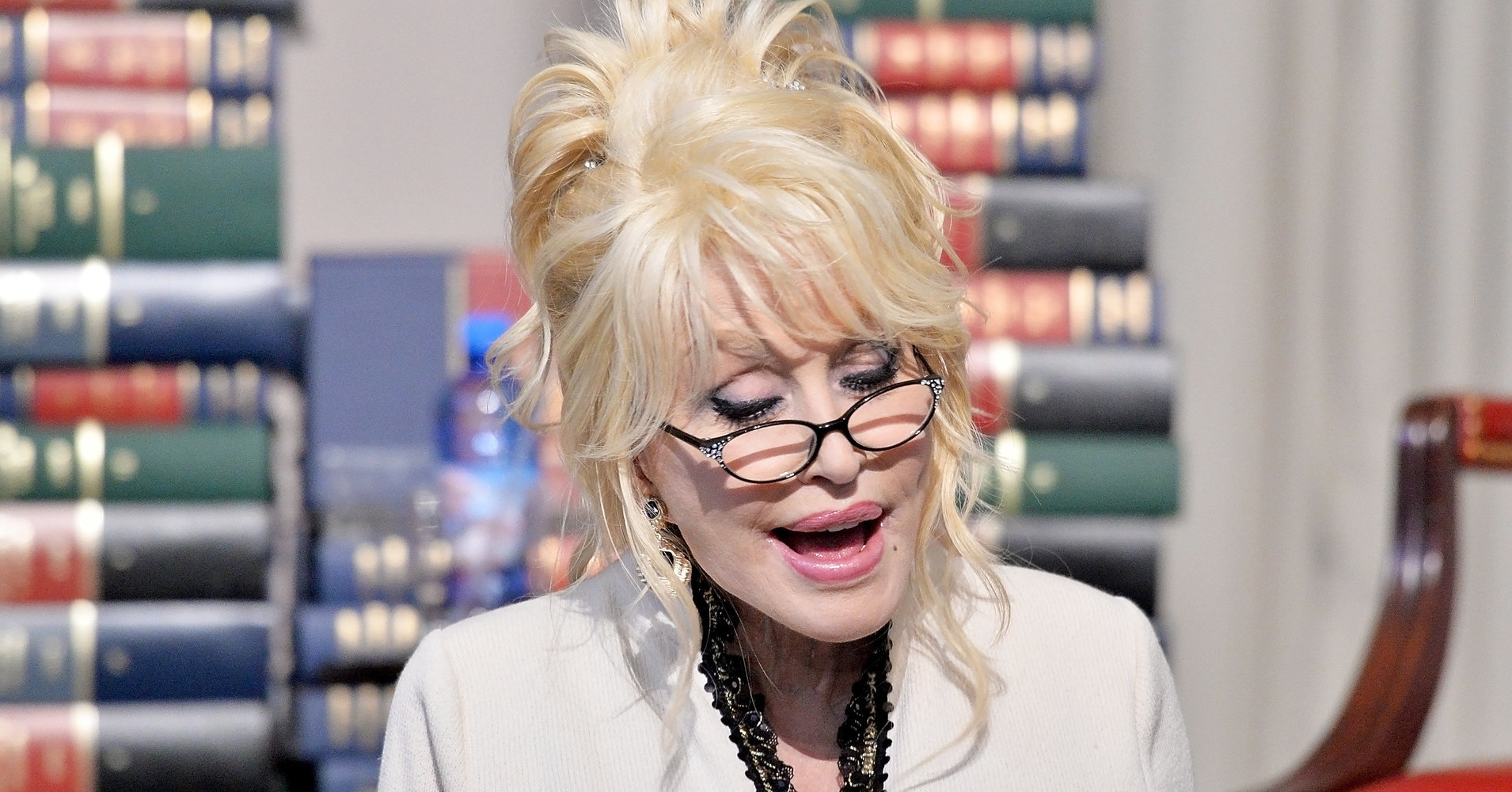 Dolly Parton's Imagination Library Gives Out 100 Millionth Free Book