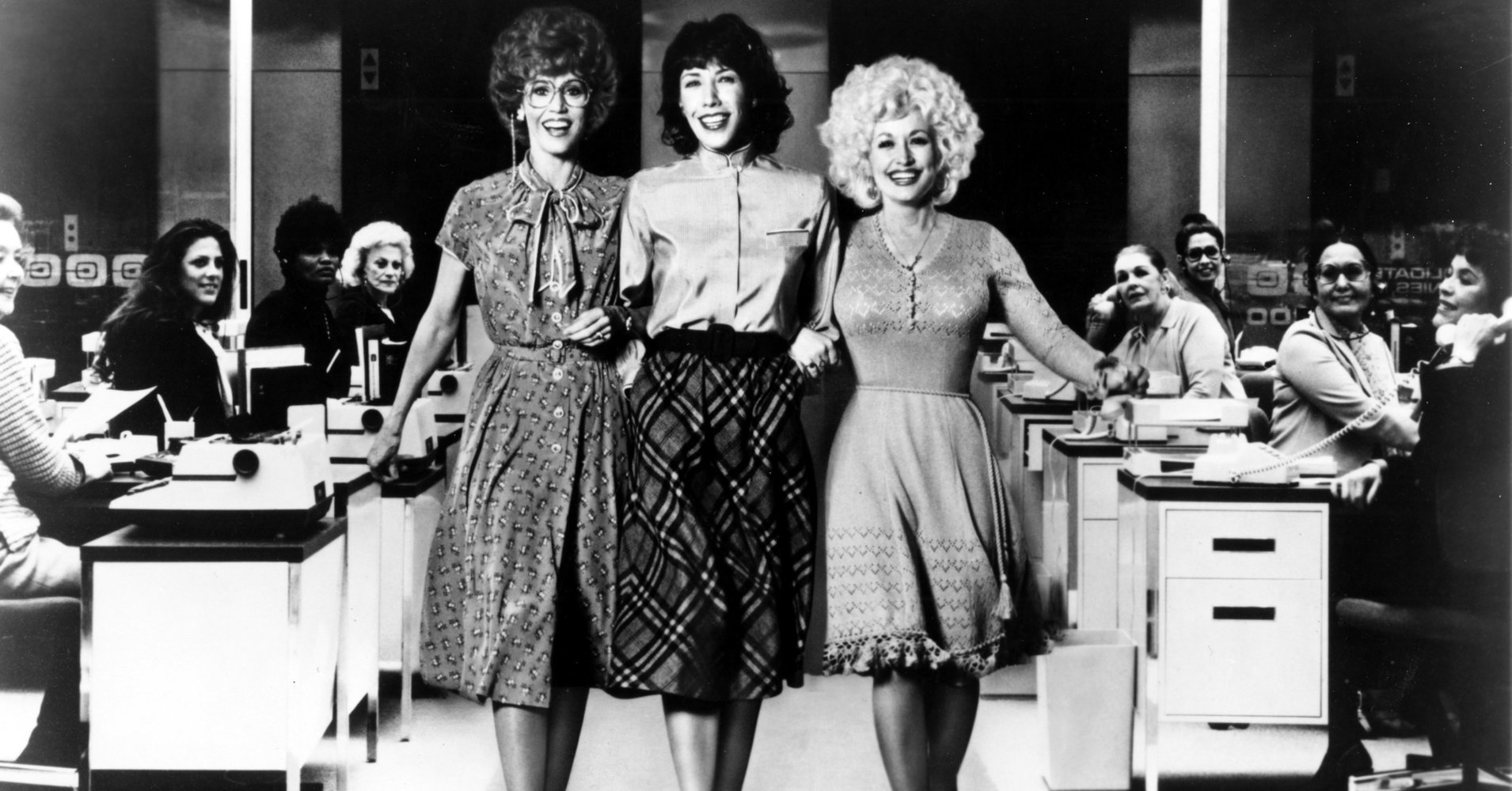A '9 To 5' Remake With Jane Fonda, Lily Tomlin And Dolly Parton Might Happen