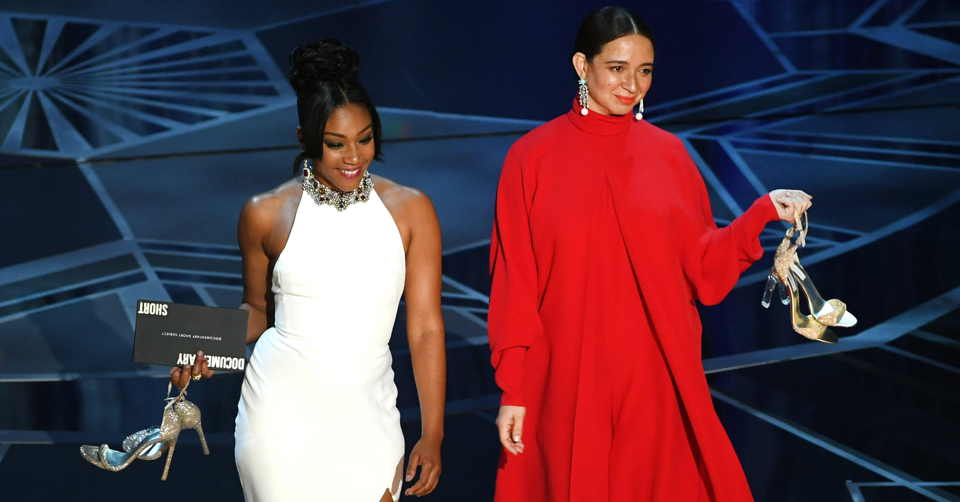 And The Award For Best Duo At The Oscars Goes To Tiffany Haddish And Maya Rudolph
