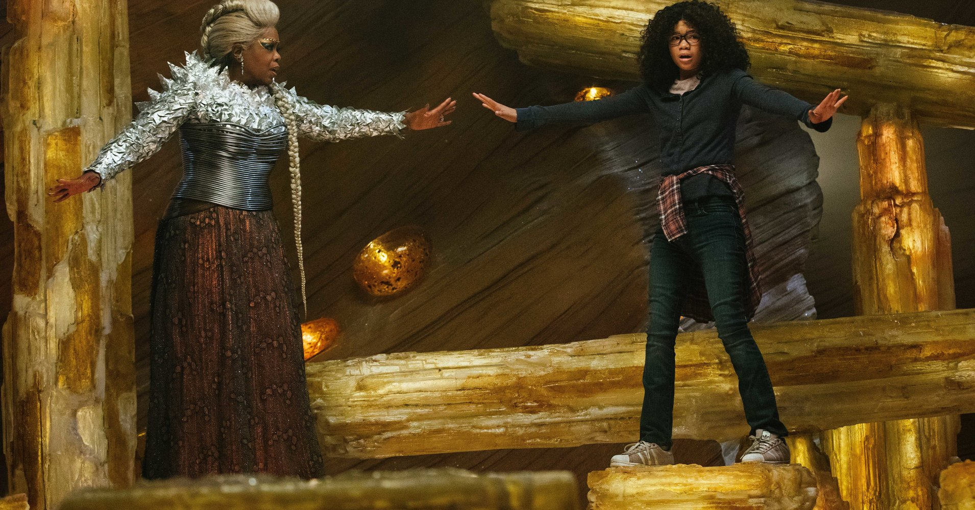 'A Wrinkle In Time' Has A Grand Imagination, But It Can't Quite Put It To Good Use