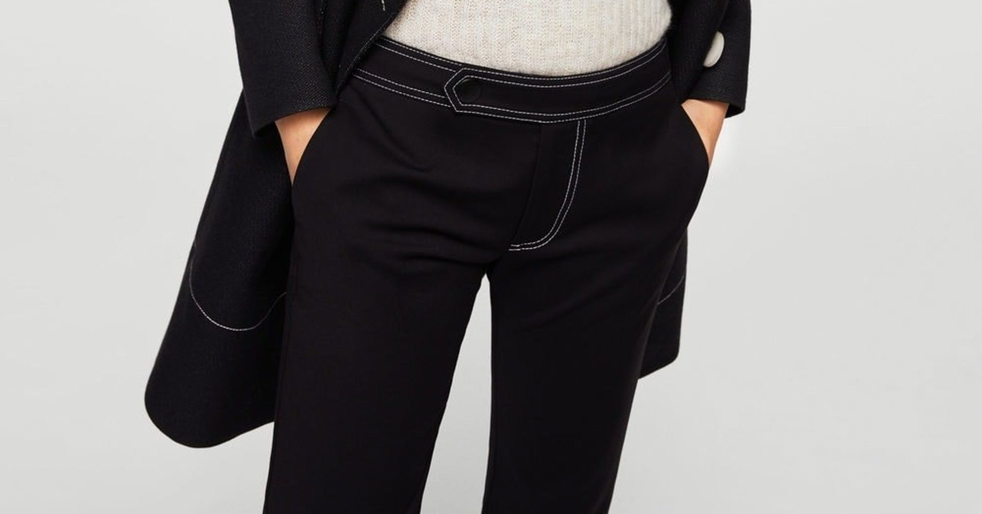 15 Versatile Black Trousers That Look Good On Every Body