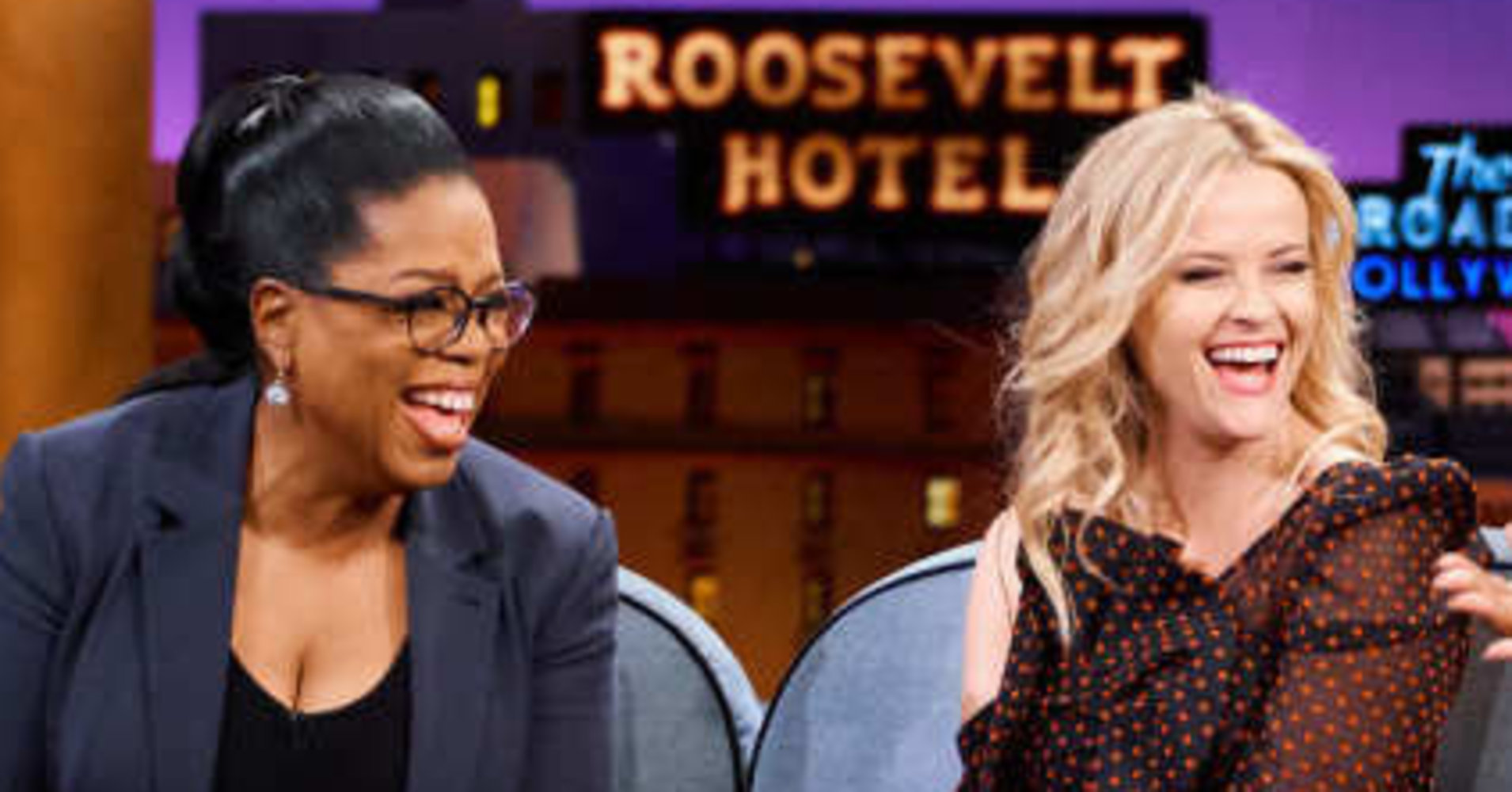 Oprah's Bathtub Is So Extra, It Even Shocked Reese Witherspoon