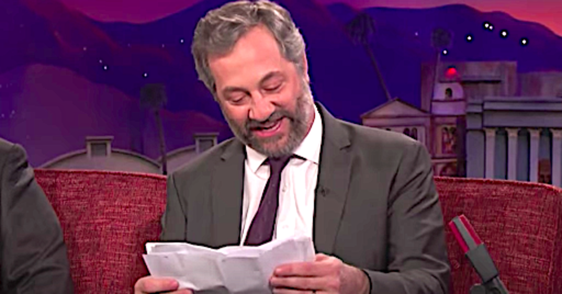 Judd Apatow Reads Garry Shandling's Hilarious Diary On 'Conan'
