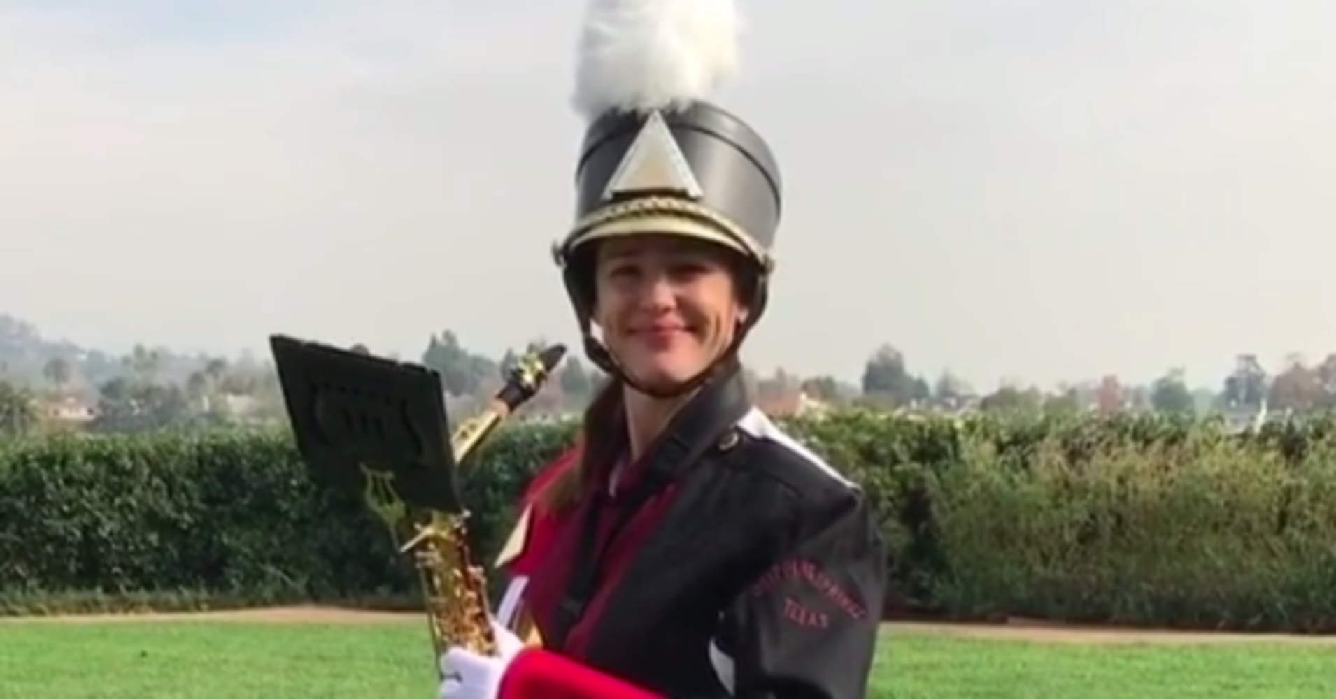 Jennifer Garner Went Full Band Geek For Reese Witherspoon's Birthday
