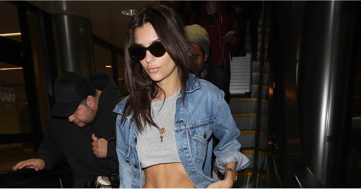 Emily Ratajkowski's Airport Shoes Make Going Through Security Completely Painless