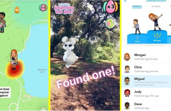 The Great Snapchat Egg Hunt Has Begun — Here's How to Get in on the Fun