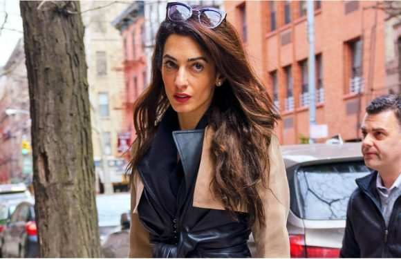 Throw Away All Your Coats, Because Amal Clooney's Trench Makes Them Look So Plain Vanilla