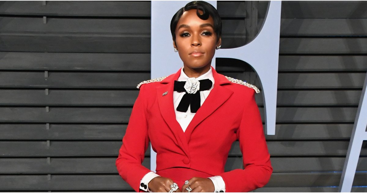 Janelle Monáe Is Business on Top and Party at the Bottom at the Vanity Fair Oscars Party