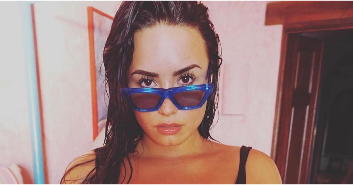 Excuse Us, We Just Got Distracted by Demi Lovato's Ultrasexy One-Piece