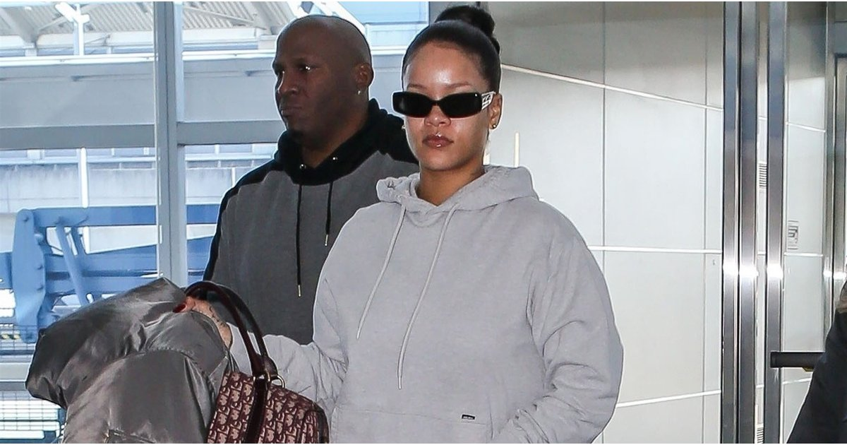 Need Coffee? Rihanna's Electrifying Airport Shoes Will Wake You Up