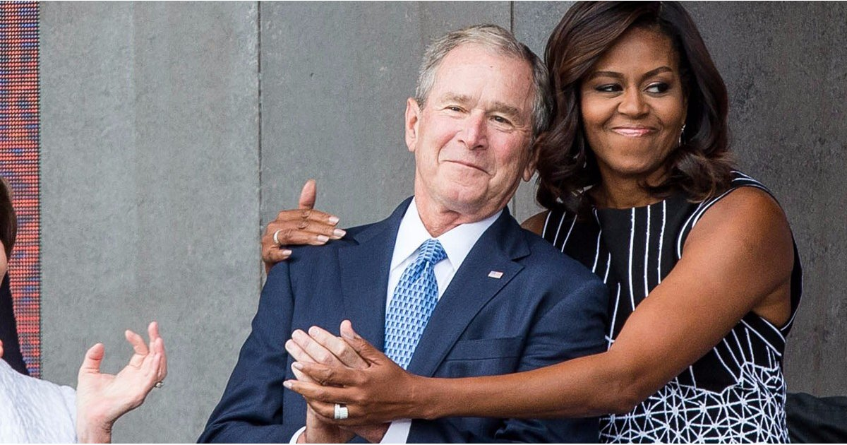 George W. Bush Opens Up About His Heartwarming Connection With Michelle Obama