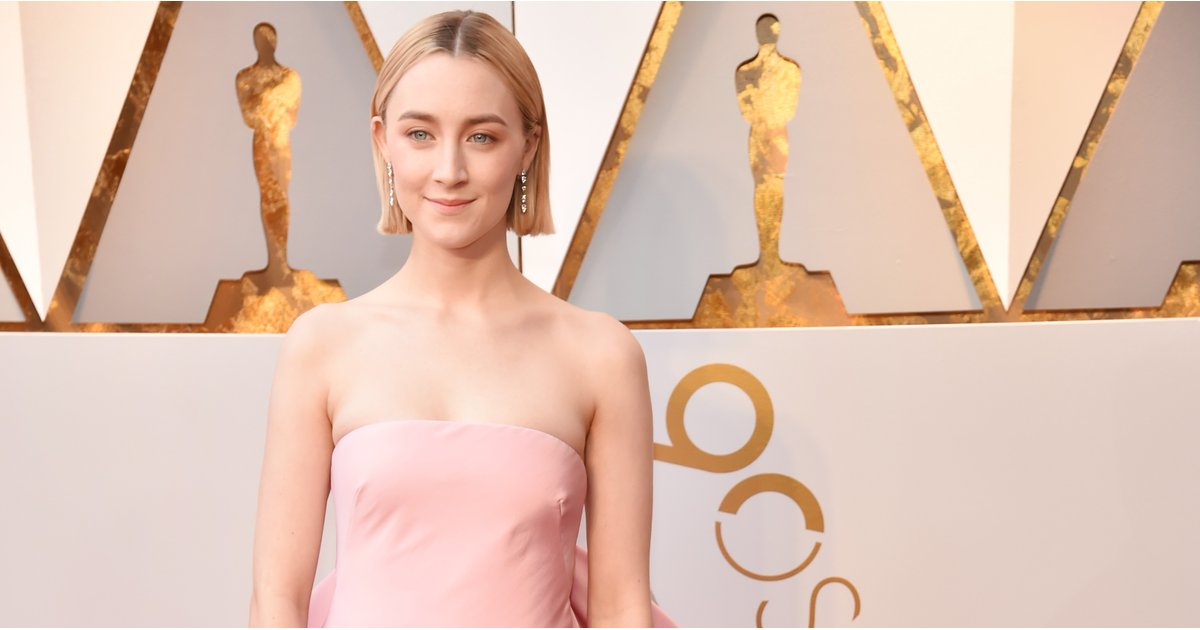 Saoirse Ronan's Oscars Dress Is a More Elevated Take on Her Lady Bird Prom Dress