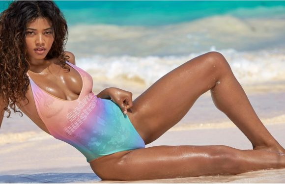 The Third Black Woman Ever to Have Graced Sports Illustrated's Swimsuit Issue Means Business