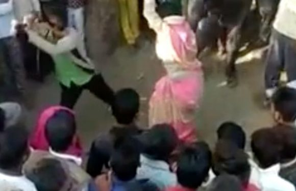 Wife tied to tree flogged 100 times by husband after being convicted of adultery