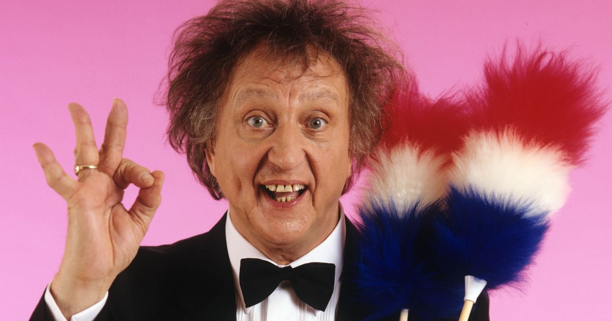 Sir Ken Dodd's comedy career in six decades of quips and gags as he dies aged 90