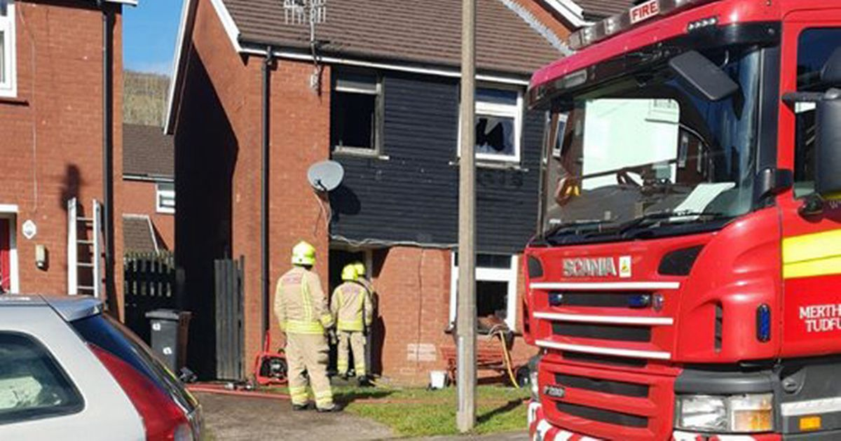 Family's home gutted in fire 'caused by faulty mobile phone charger'