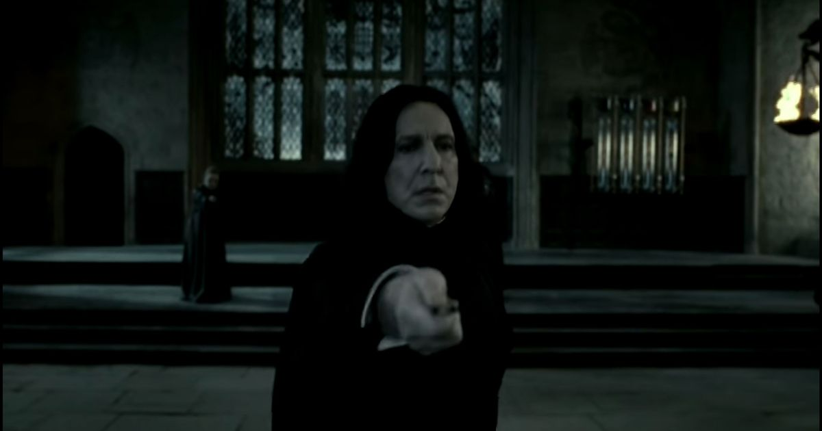 Fans notice another amazing detail about how Professor Snape protected Harry