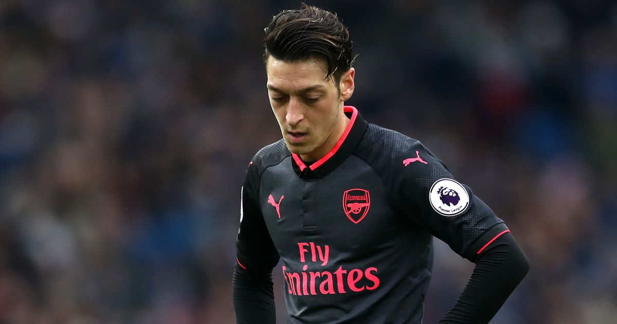 What Mesut Ozil did immediately after Brighton's second goal against Arsenal