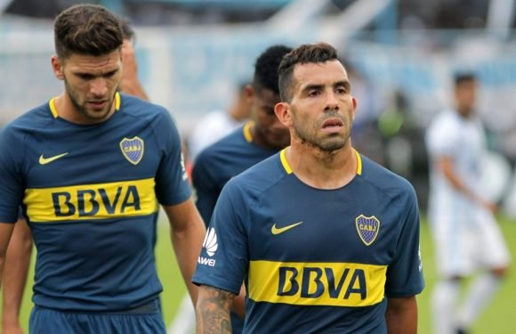 Tevez responds to speculation he injured himself playing football in prison