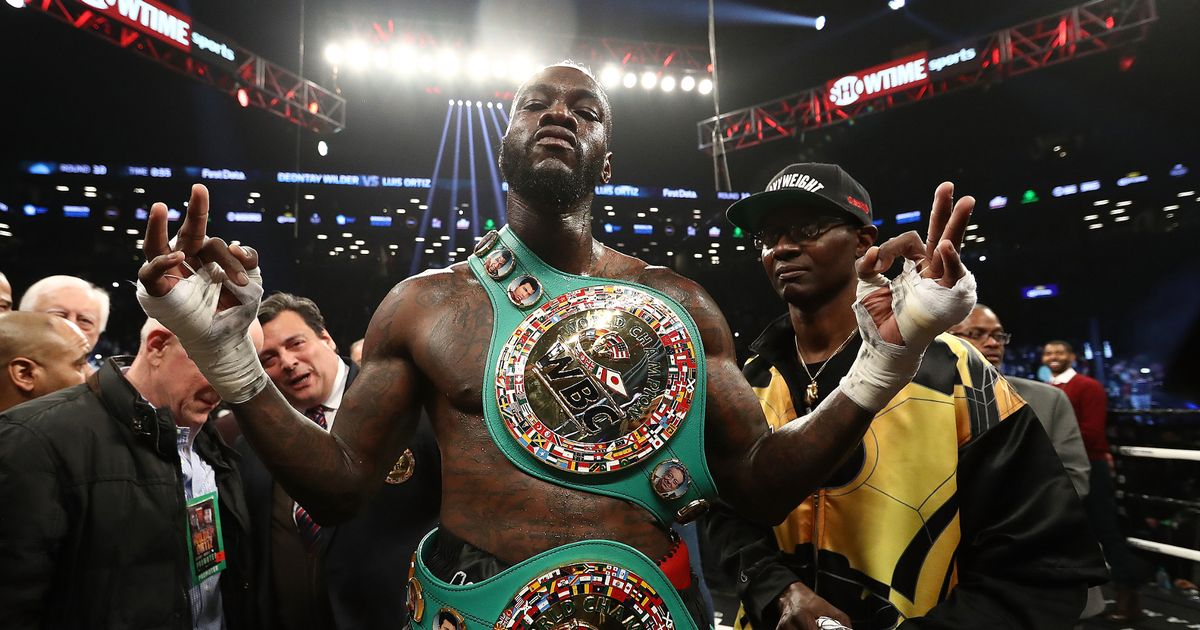 Wilder channels inner Mike Tyson in warning to Anthony Joshua