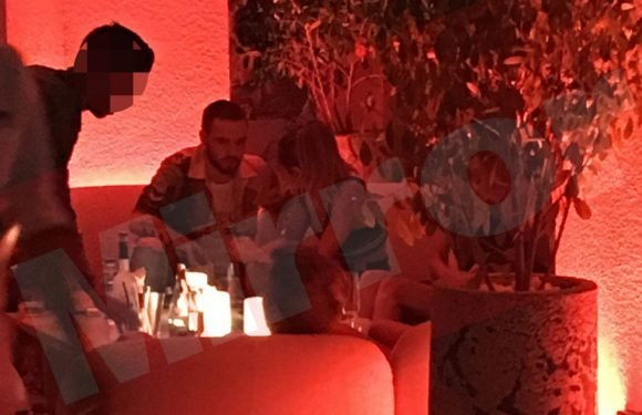 Liam Payne spotted enjoying cosy late night out with attractive Cheryl lookalike