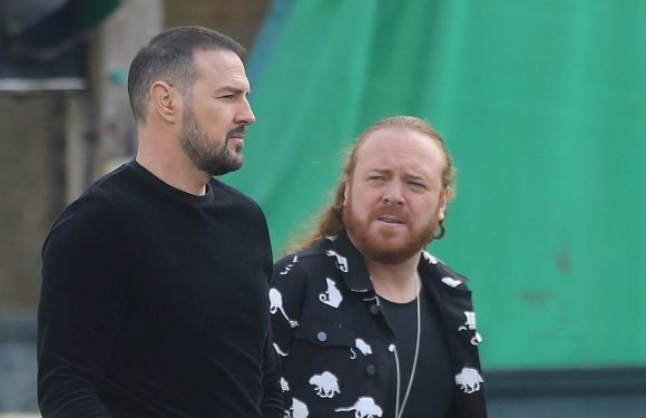 Paddy McGuinness out filming for first time since pictures with Nicole Appleton
