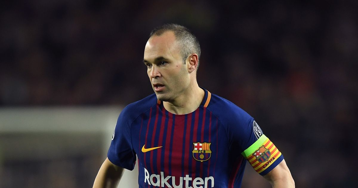Barcelona's Andres Iniesta says he until April to decide on an offer from a club