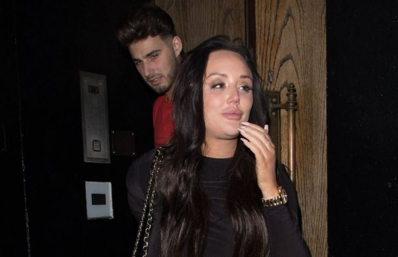 Sobbing Charlotte Crosby bursts into tears after watching her new show