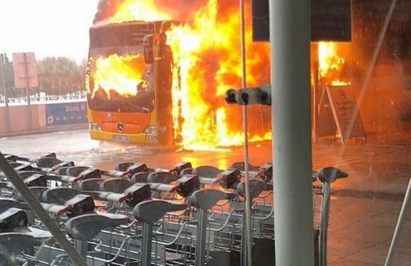 Flights set to resume at Stansted Airport after shuttle bus fire