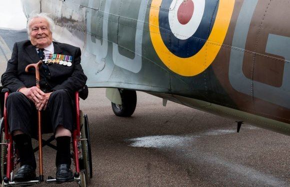 Youngest Battle of Britain pilot recalls war ahead of RAF's 100th anniversary