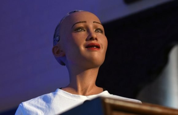World's first humanoid robot blames fake news for making us fear the rise of AI