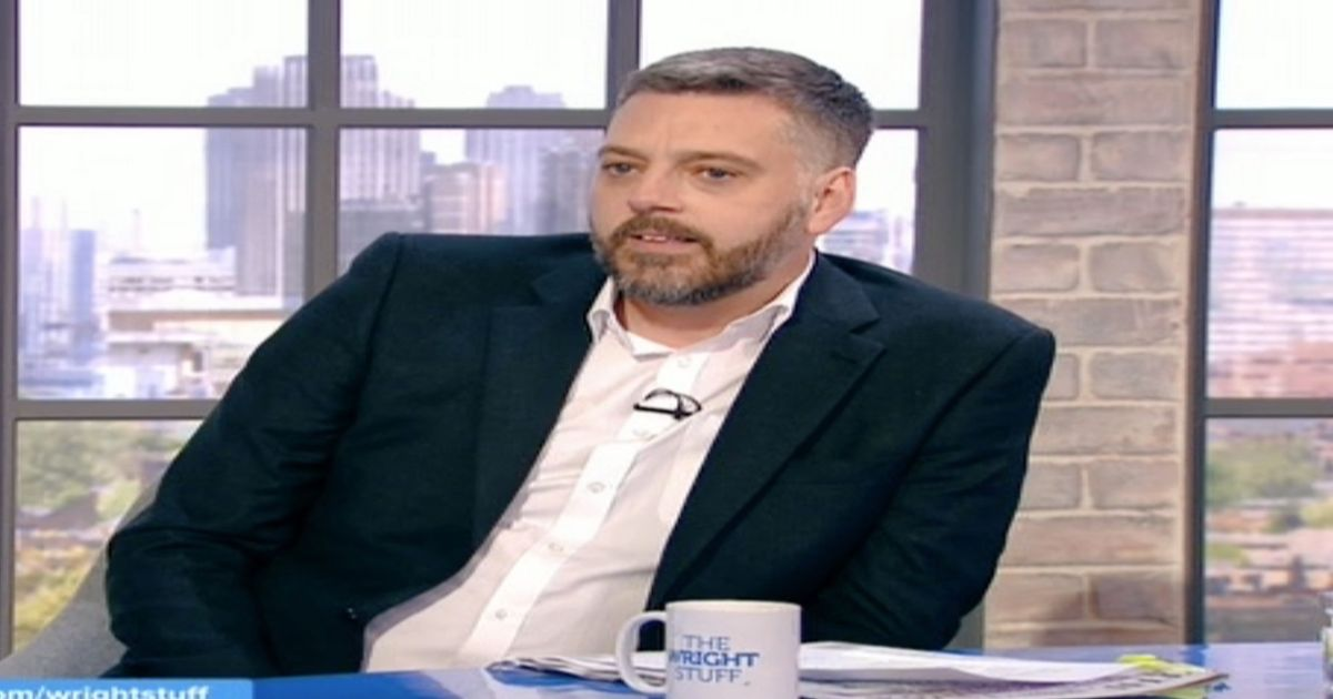 Iain Lee reveals real reason he stormed off from live chat on The Wright Stuff