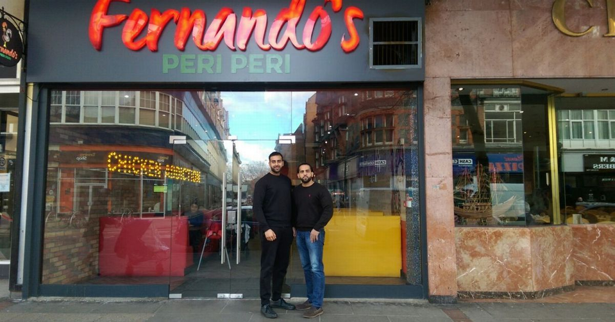 Owner of Fernando's peri peri chicken shop 'baffled' at Nando's legal letter