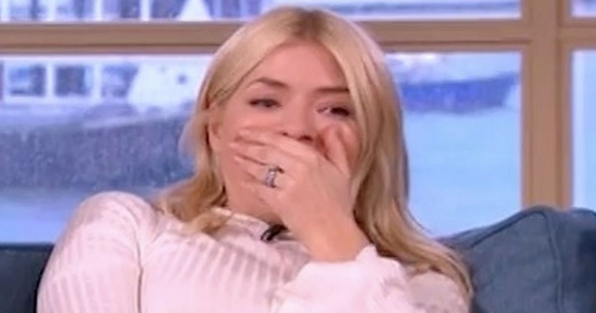 Holly Willoughby chokes on 'vodka breath' from Dancing On Ice after party