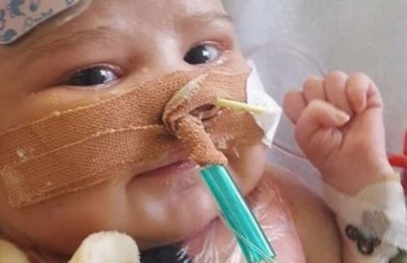 Baby who was UK's youngest heart transplant patient dies just months after op