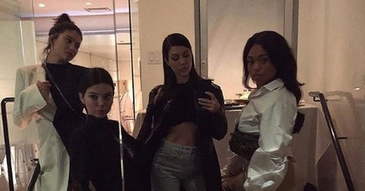 Kourtney Kardashian reunites with Kylie and Kendall for sour faced dinner event